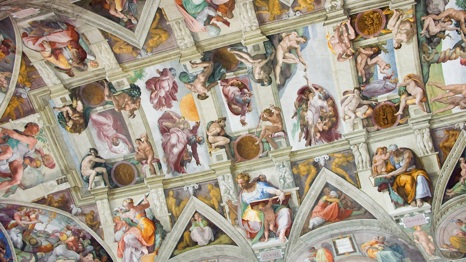 Michelangelo—The Sistine Chapel Ceiling