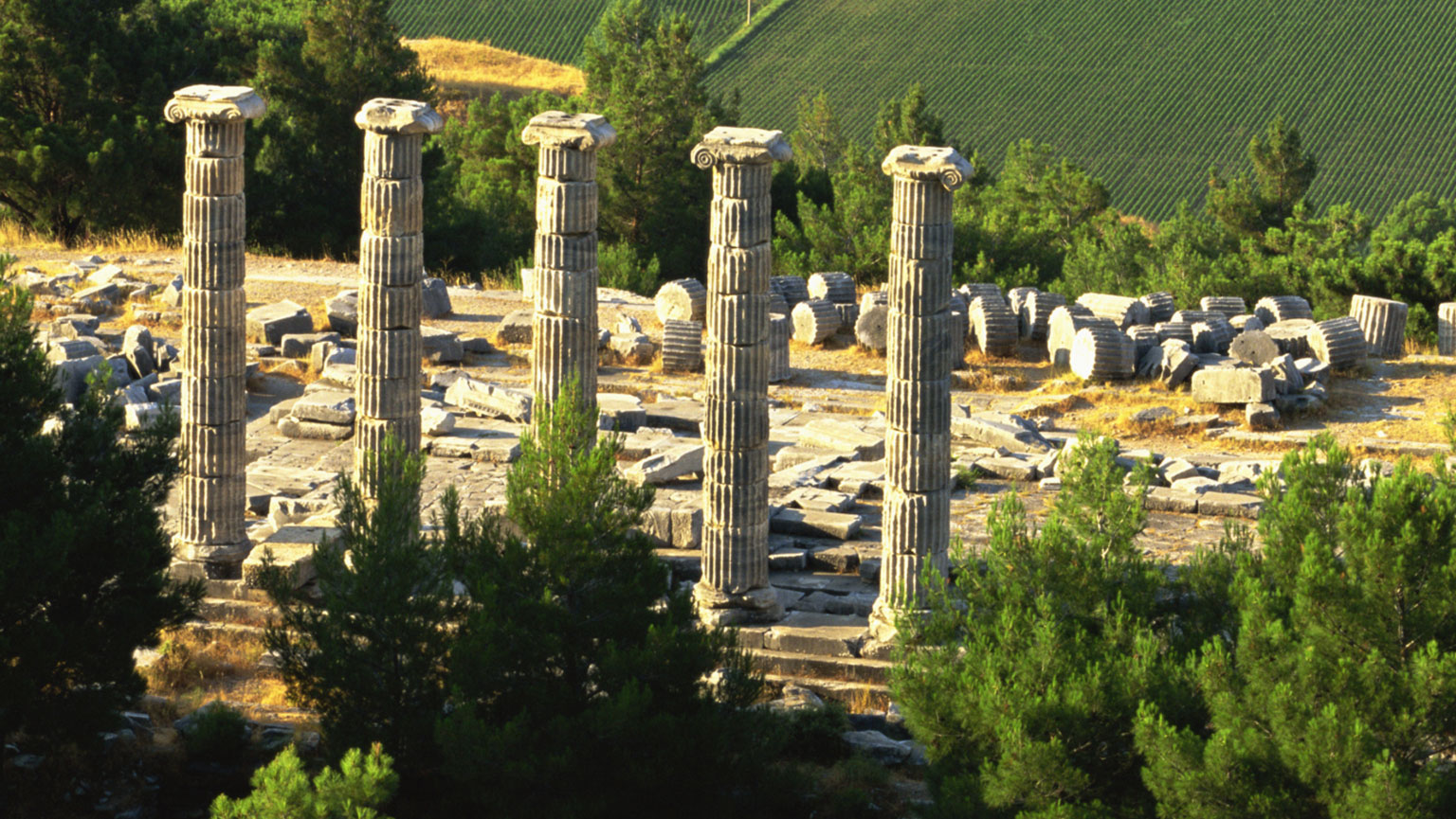 Up the Meander River—Priene to Pamukkale