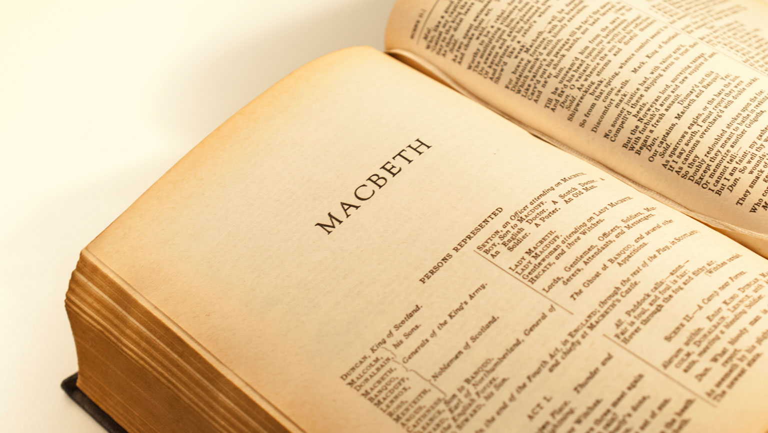 Macbeth—Musing on Murder
