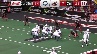 Baltimore Brigade vs. Cleveland Gladiators: All the TDs