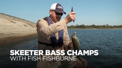 Skeeter Bass Champs with Fish Fishburne