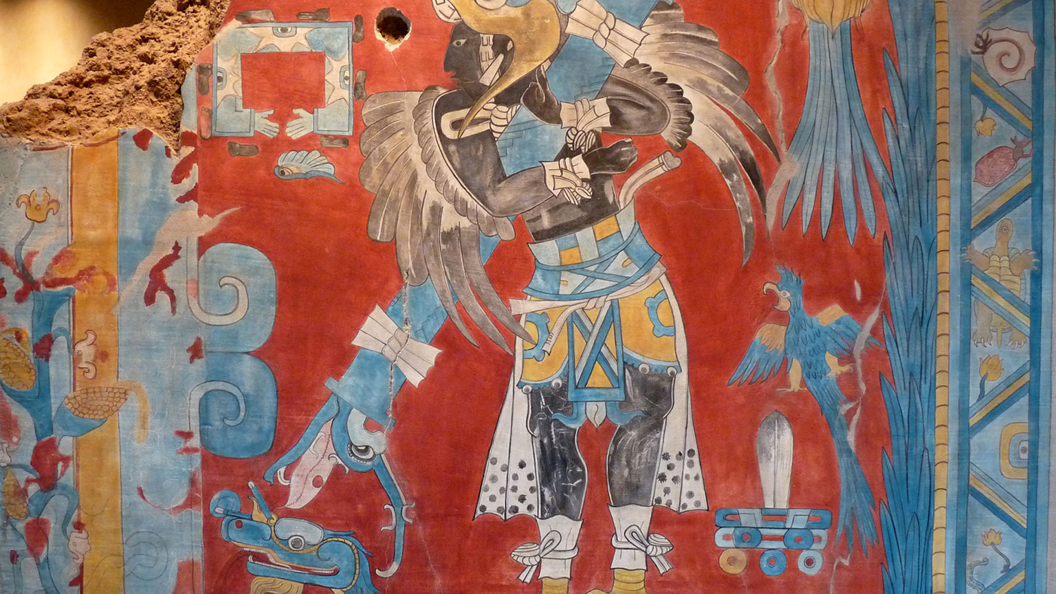 Cacaxtla Murals and Xochicalco
