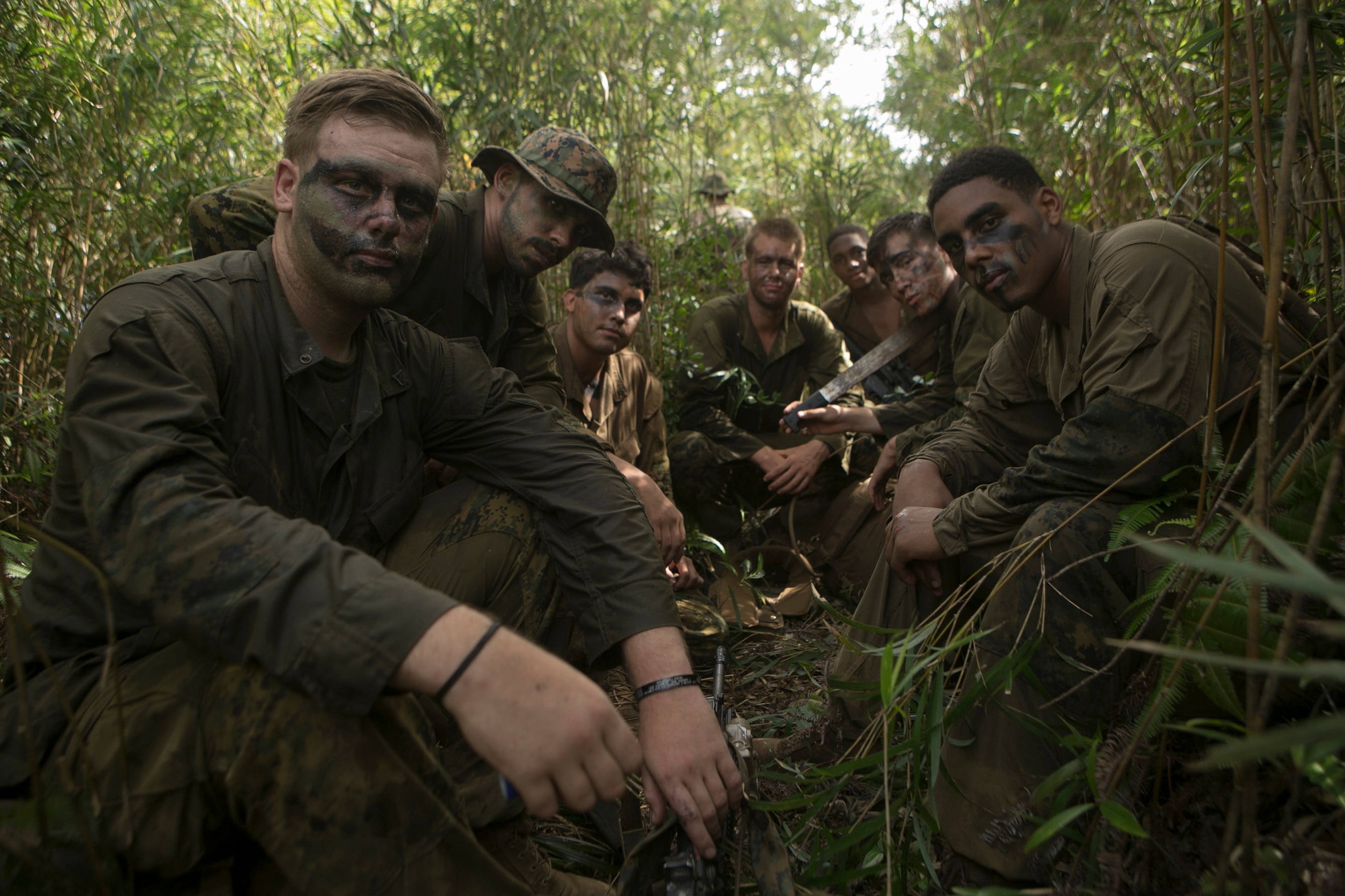 Marines Sound Off On The Corps New Jungle Uniform Wear Test