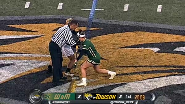 William and Mary vs Towson Highlight