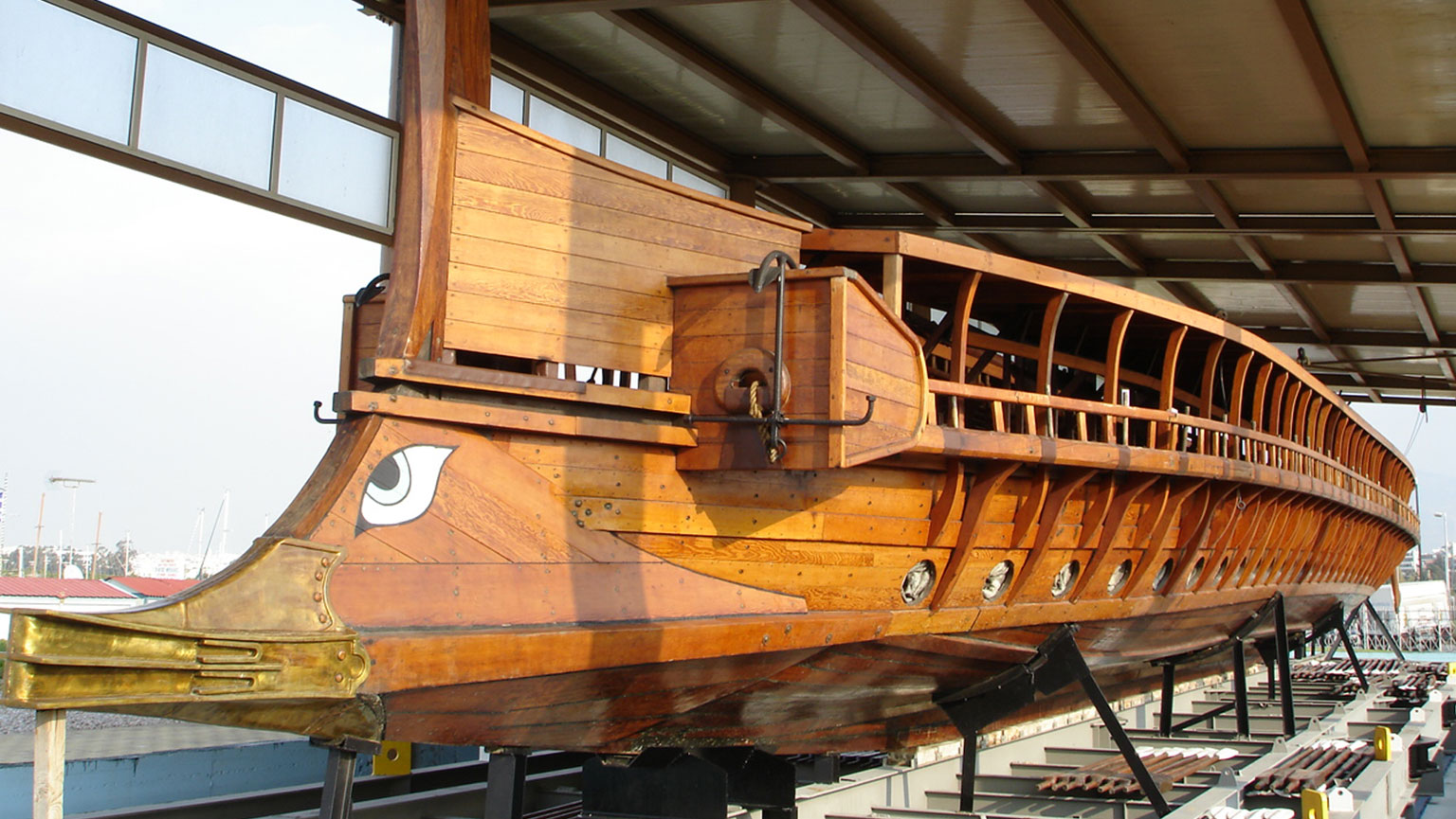 Reconstructing the Greek Trireme