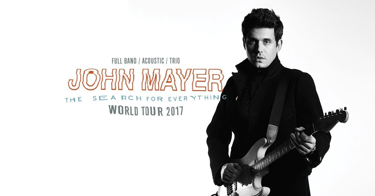 John Mayer The Search For Everything World Tour