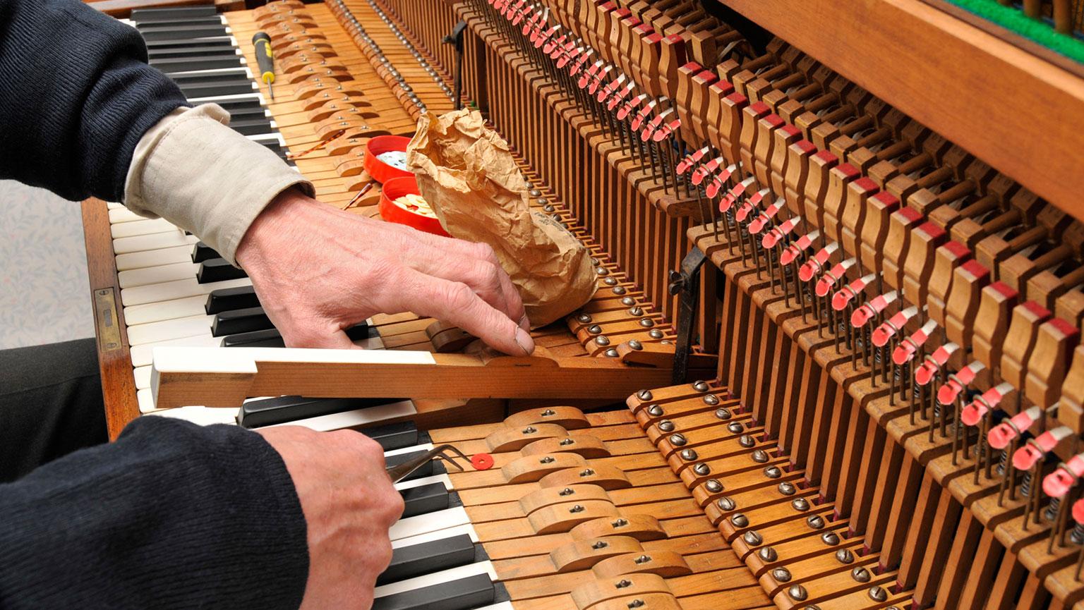 Dissonance and Piano Tuning