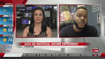 Stockton Mayor on universal income experiment