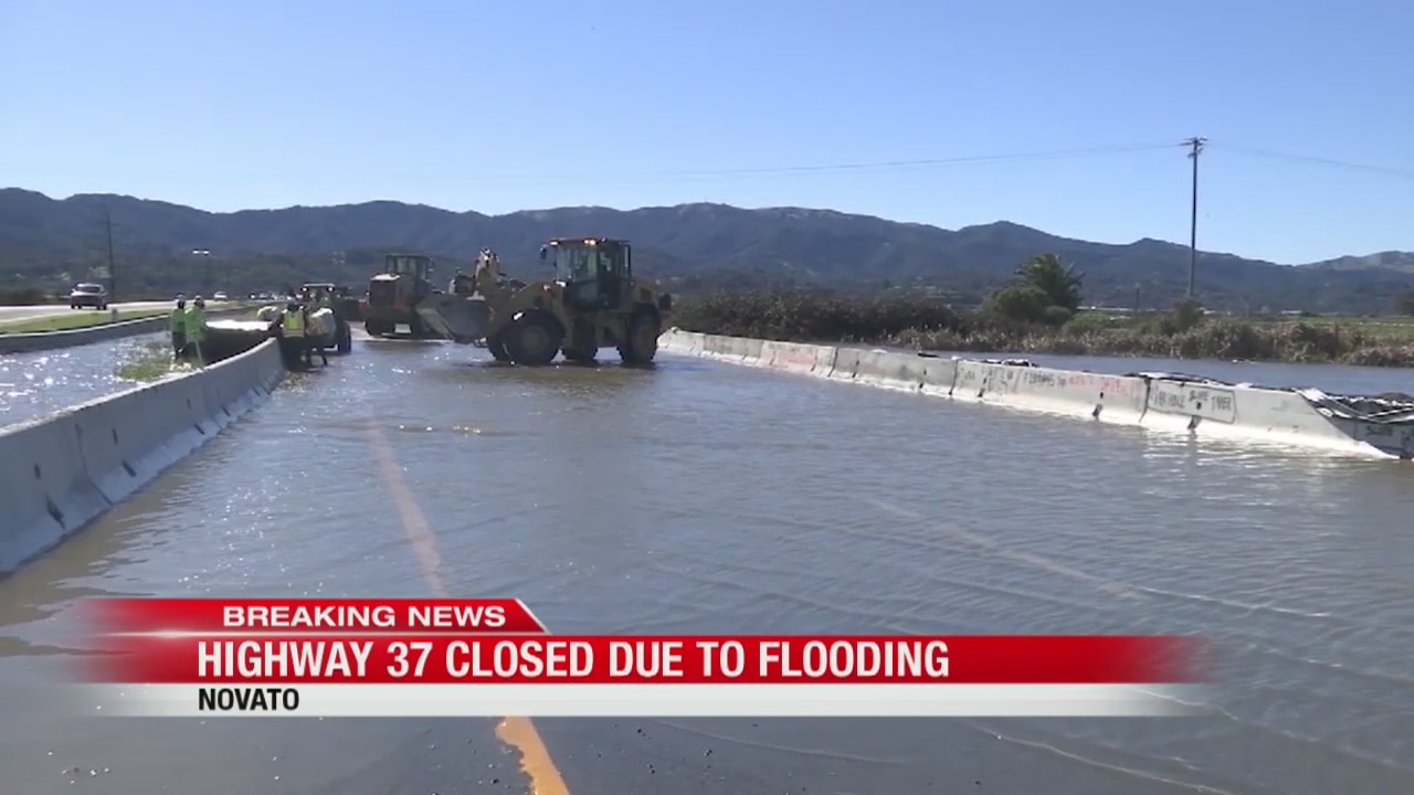 Hwy 37 in Novato closed due to flooding | kronon
