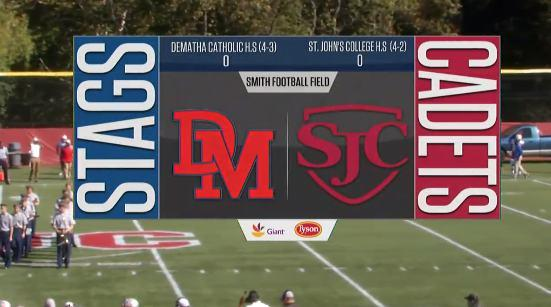 HS Football Showcase: DeMatha vs St John's