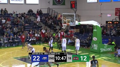 Highlights: Go-Go @ Red Claws 12/1/18