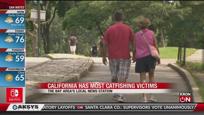 California has most catfishing victims