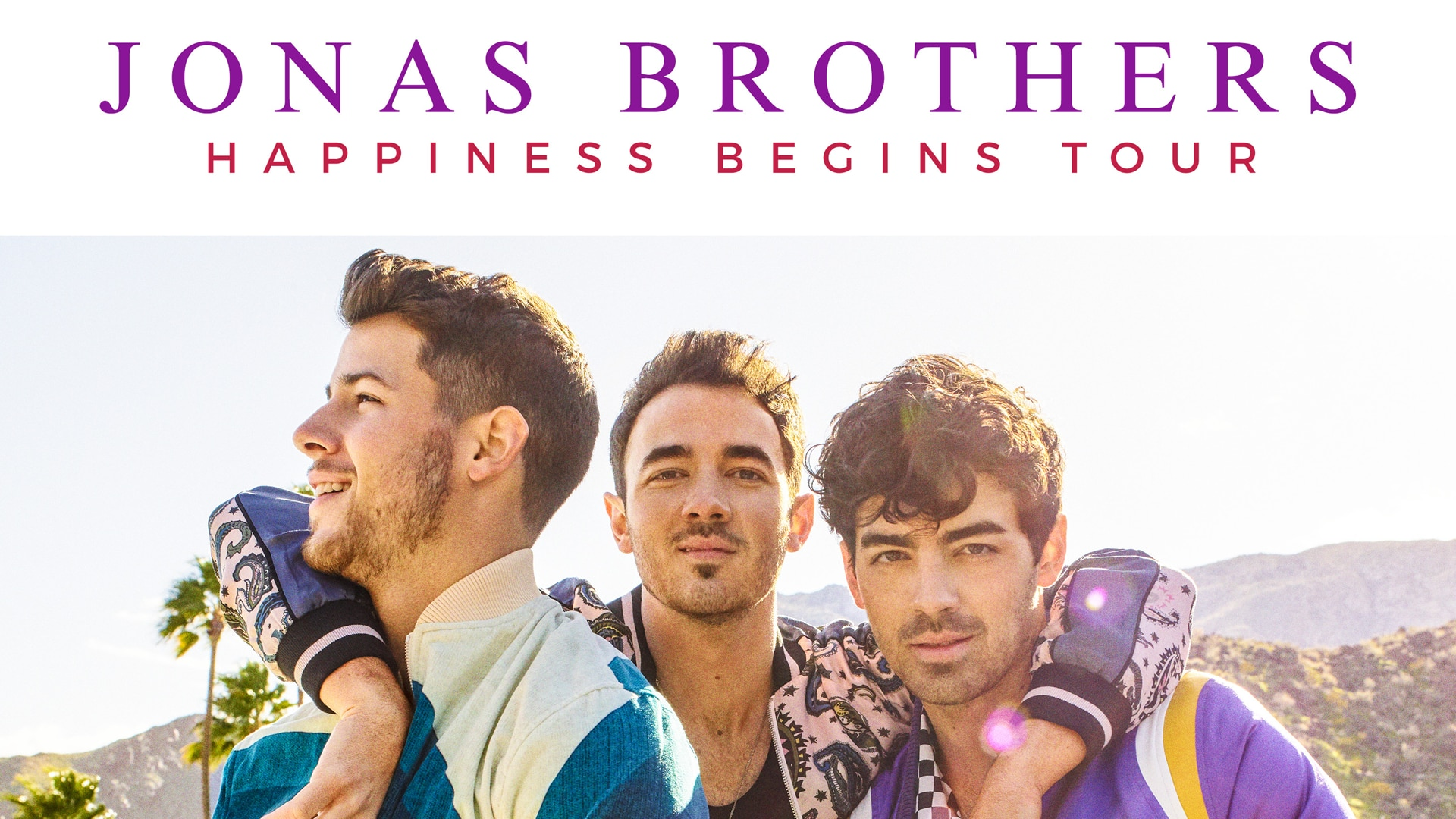 Jonas Brothers - Happiness Begins Tour with Special Guests Bebe Rexha and Jordan McGraw