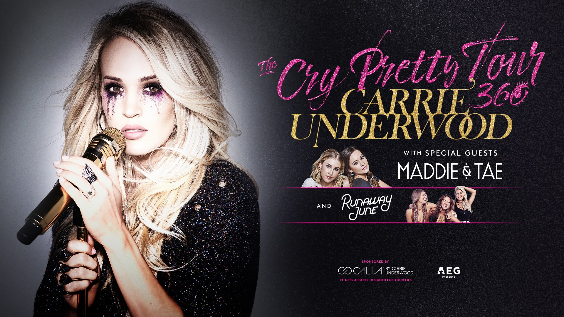 Carrie Underwood with Special Guests Maddie & Tae and Runaway Jane