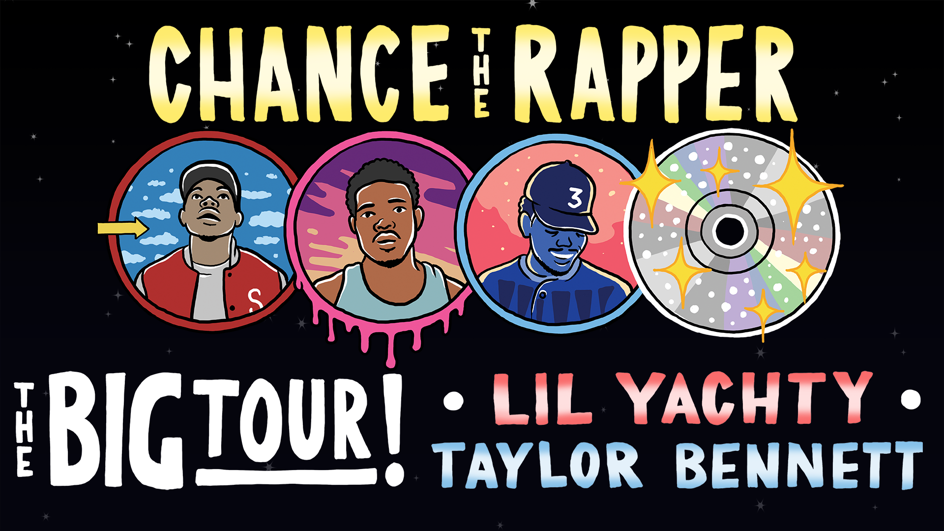 NEW DATE - Chance The Rapper - The Big Tour