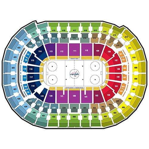 Washington Capitals Seating Chart