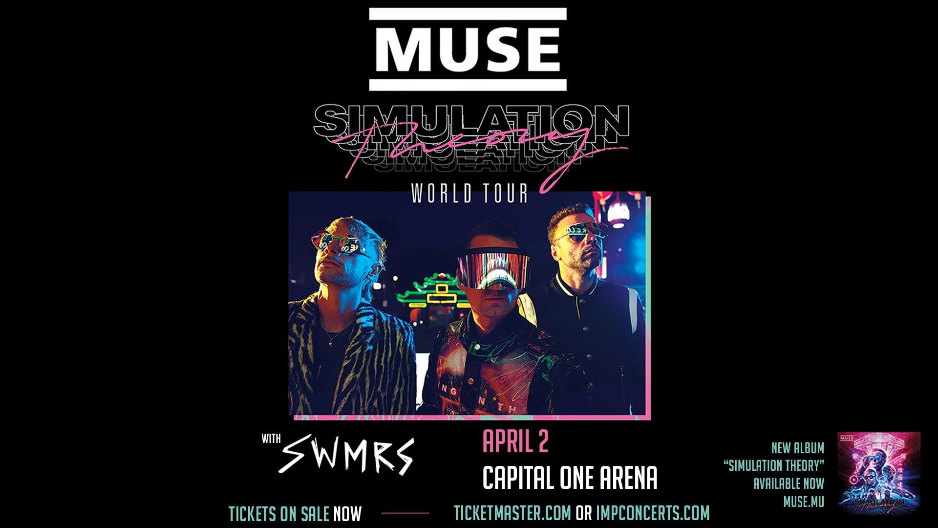 MUSE - Simulation Theory World Tour  w/ SWMRS