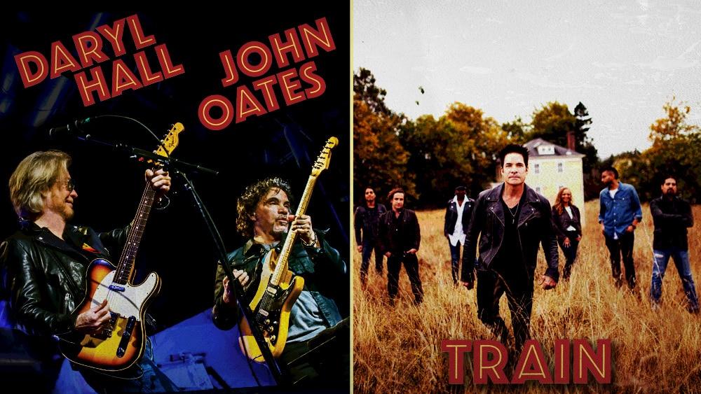 Daryl Hall & John Oates and Train