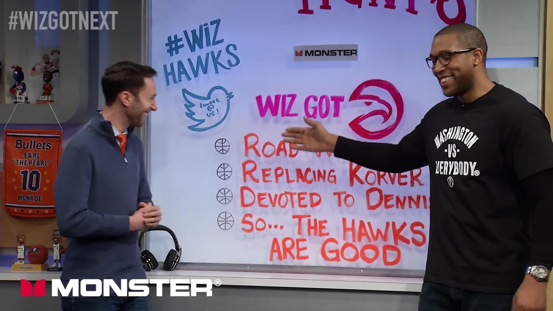 Wiz Got Next: Wizards @ Hawks Pt 1 - 1-27-17