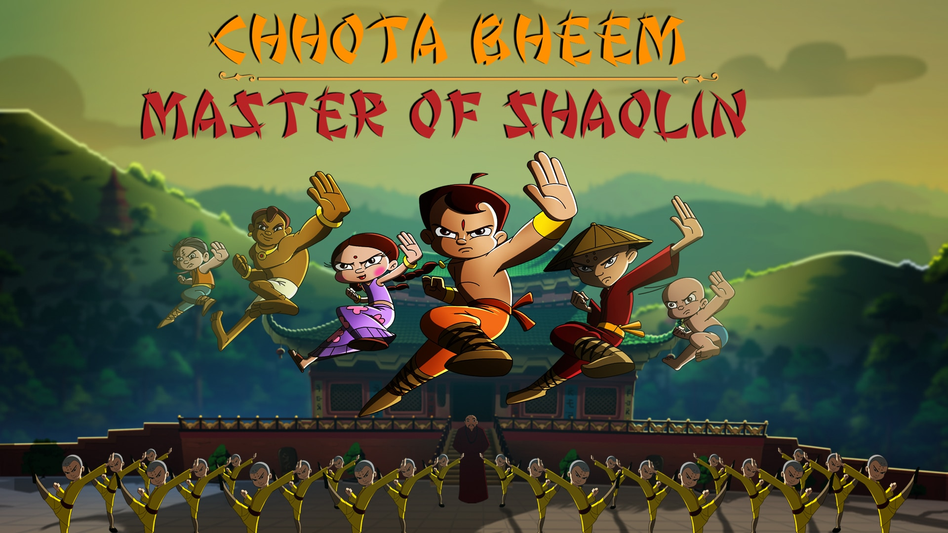 Chhota Bheem Master of Shaolin (2011) Full Movie In Telugu