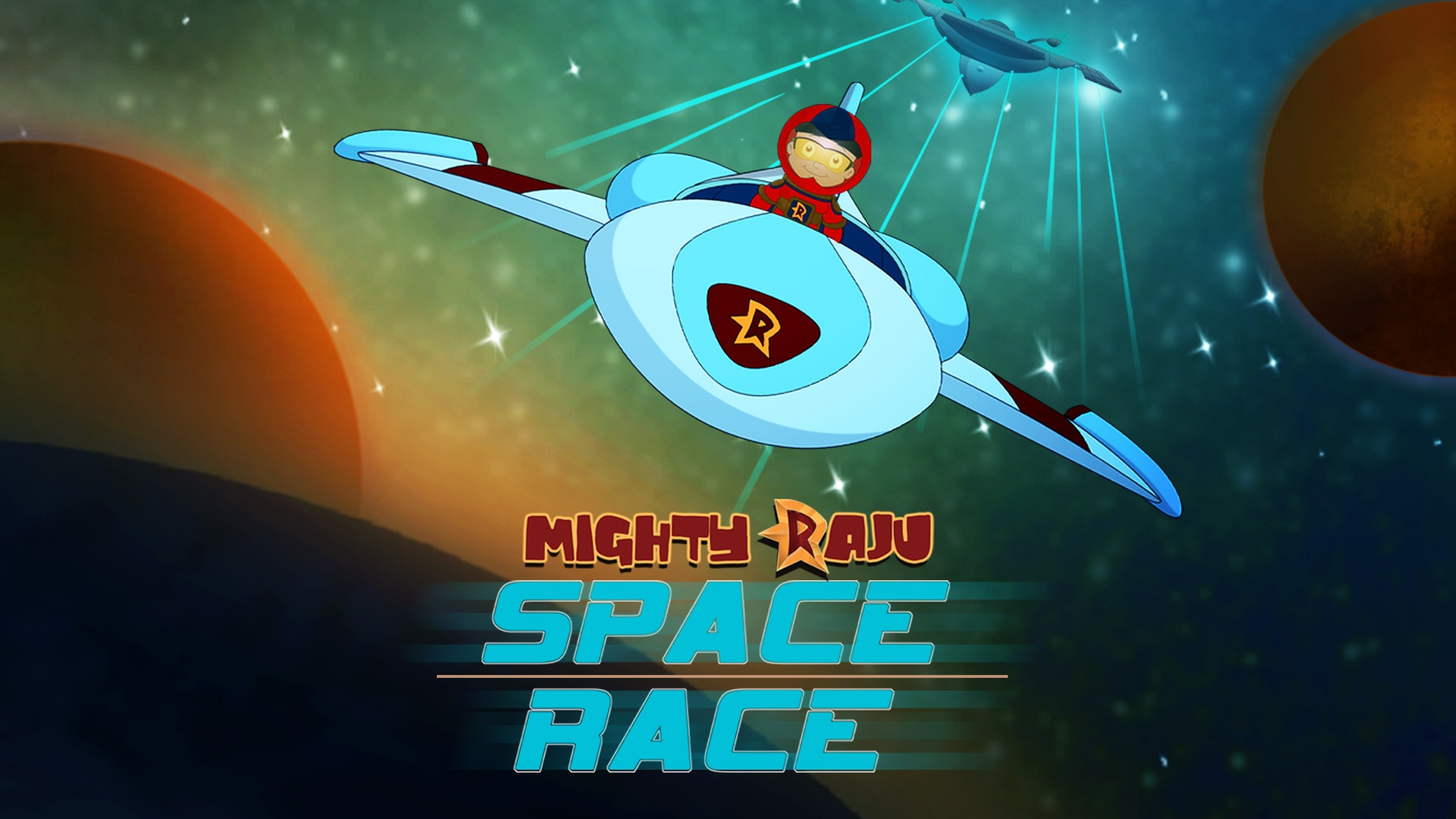 Mighty Raju Space Race Full Movie In Telugu