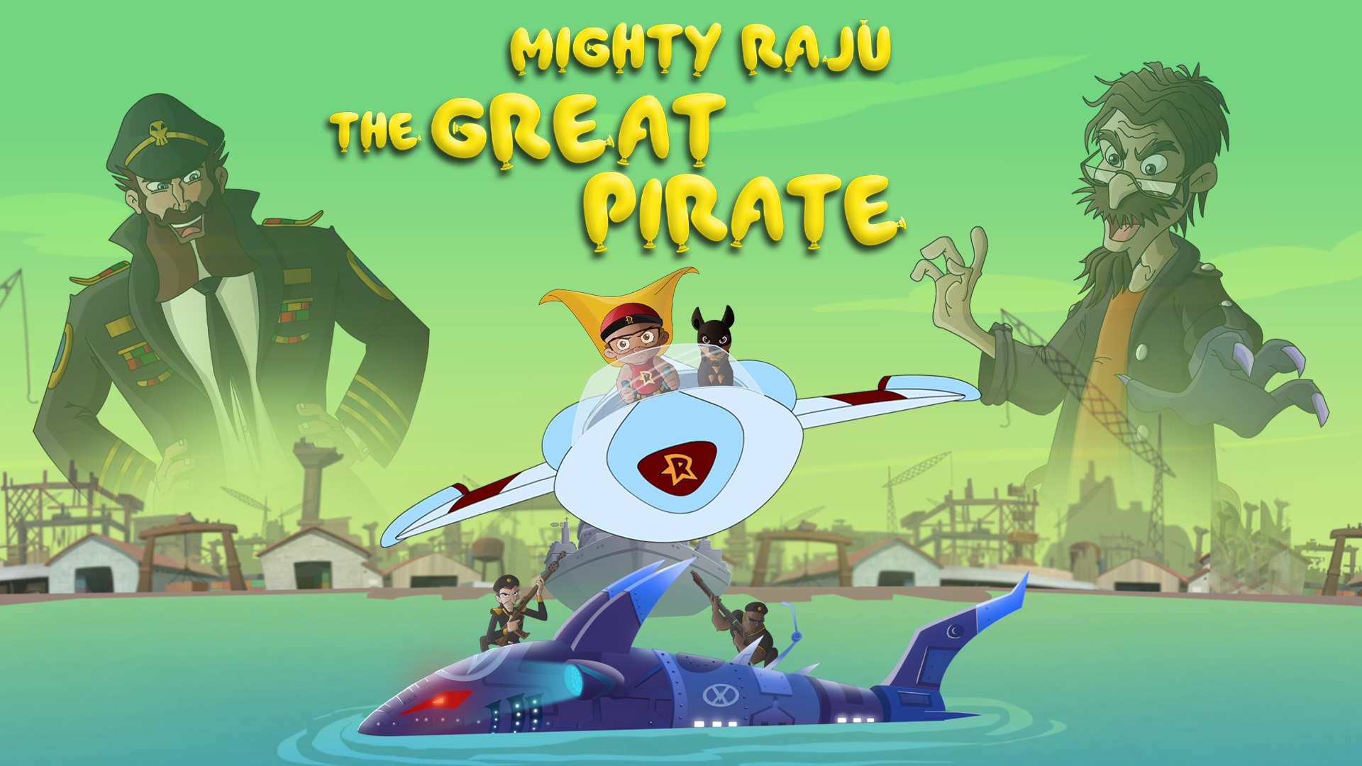 Mighty Raju The Great Pirate Full Movie In Telugu