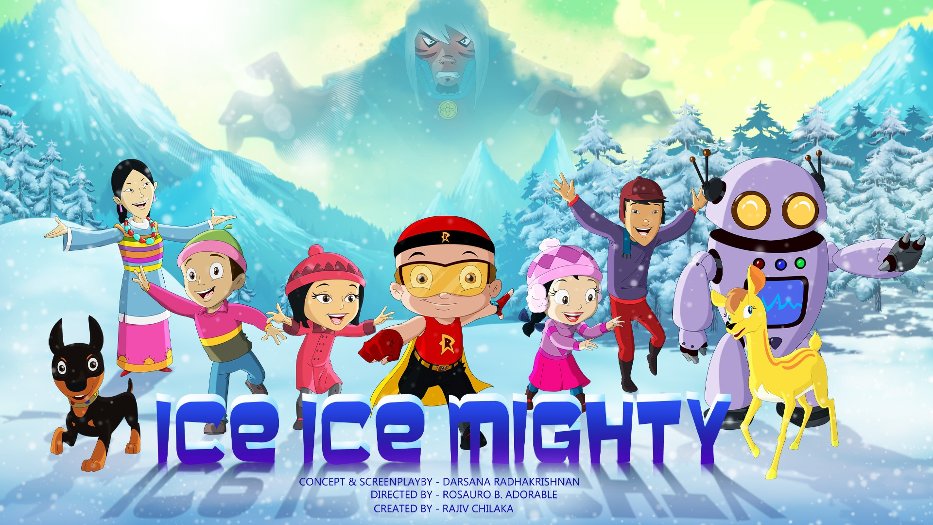 Mighty Raju Ice Ice Mighty Full Movie In Telugu
