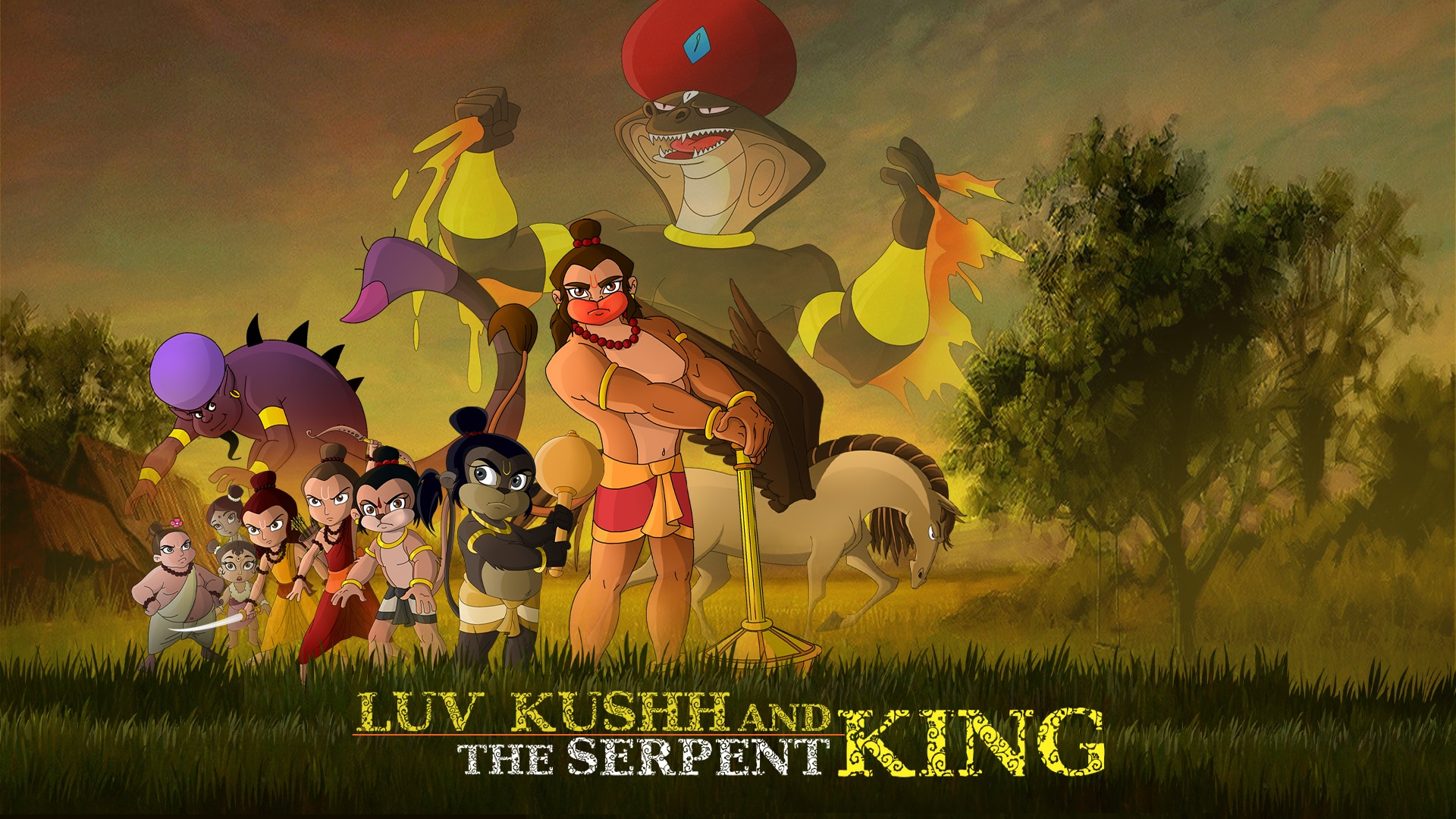 Luv Kushh The Serpent King Full Movie In Telugu
