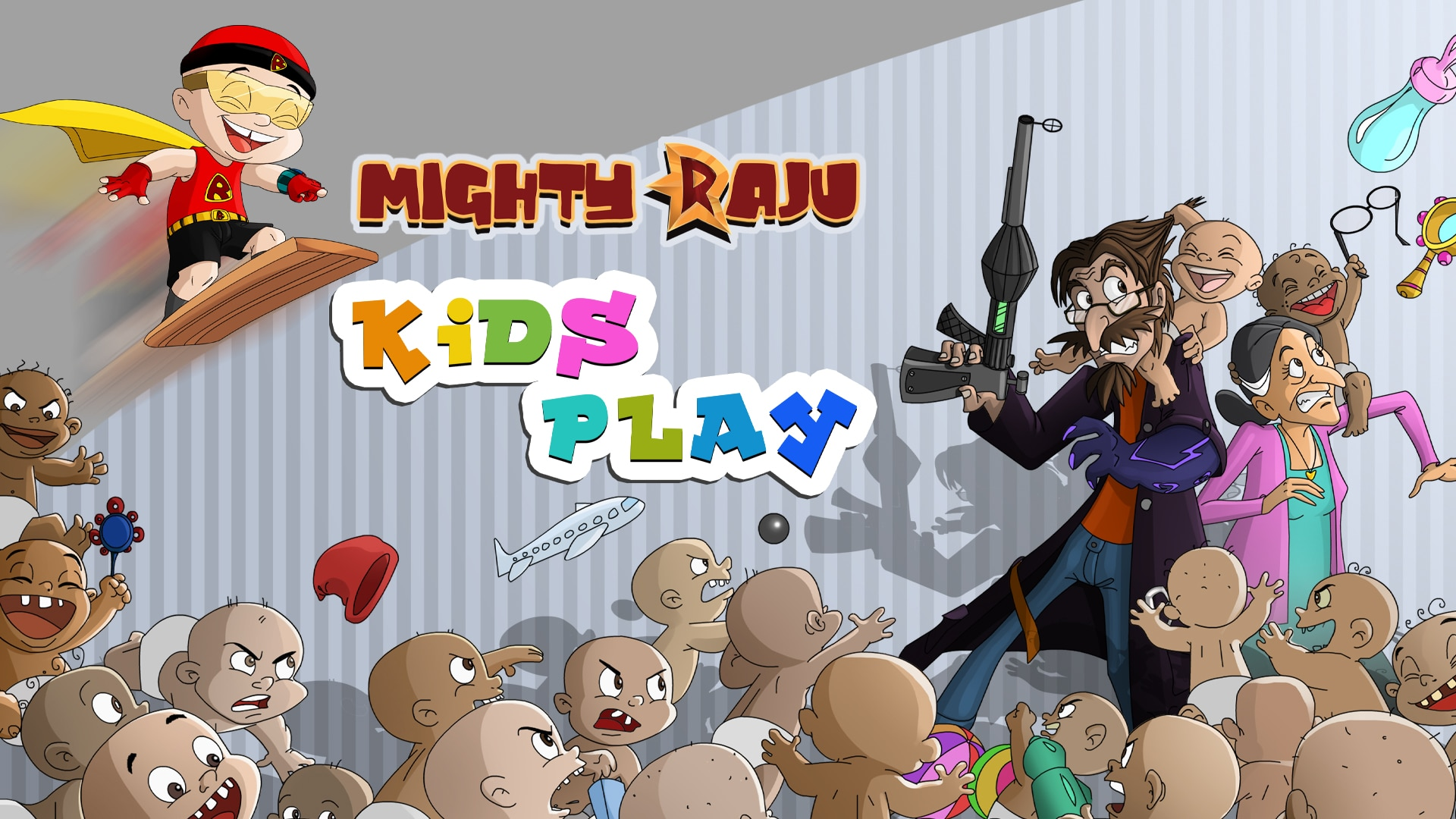 Mighty Raju Kids Play Full Movie In Telugu