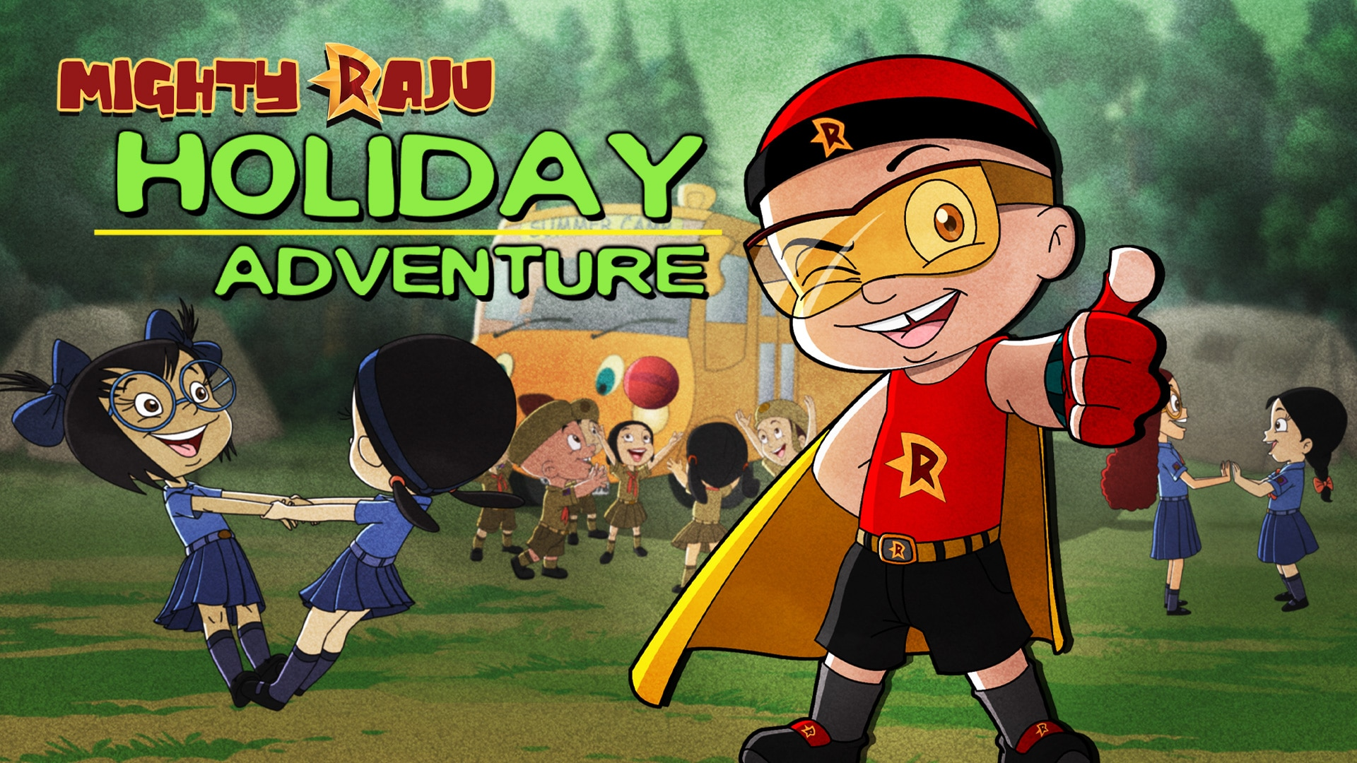 Mighty Raju Holiday Adventure Full Movie In Telugu