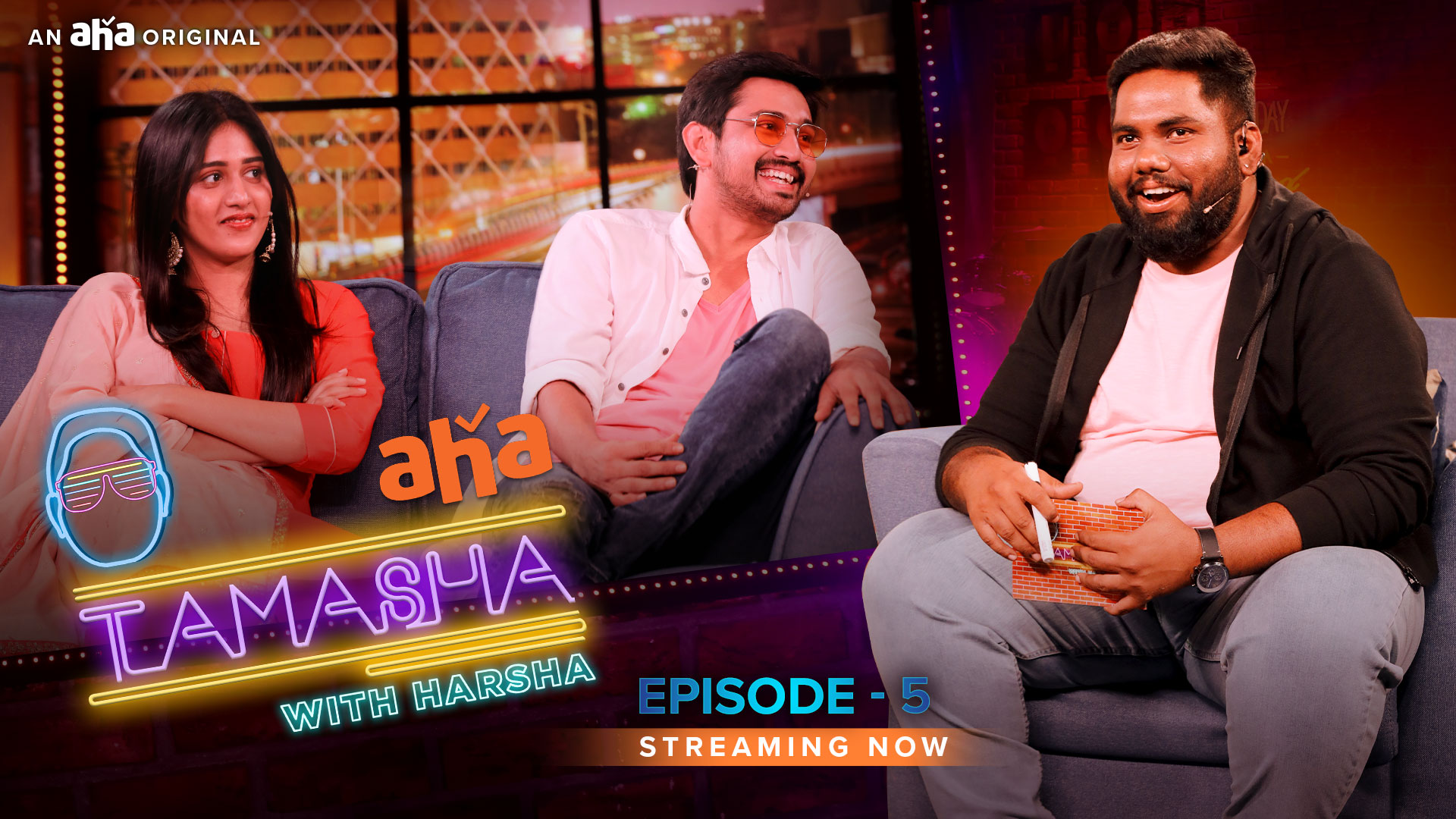 Watch Tamasha With Harsha Web Series Online In Hd Quality 1080 P