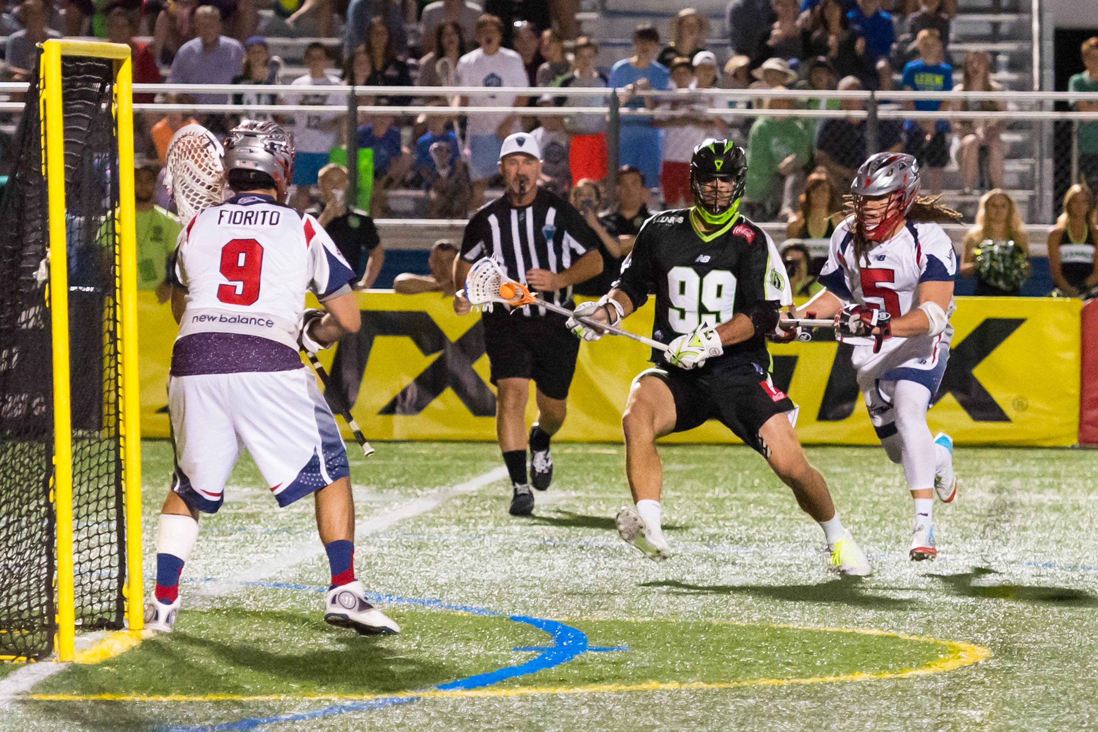 Image of Tyler Fiorito comes up with big time save against the Lizards
