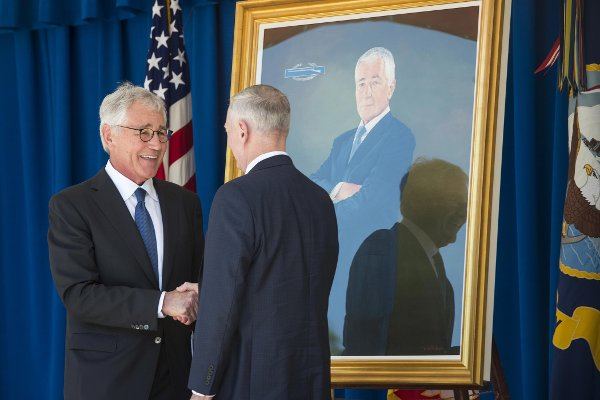 Secretary Chuck Hagel s order that gay spouses of National