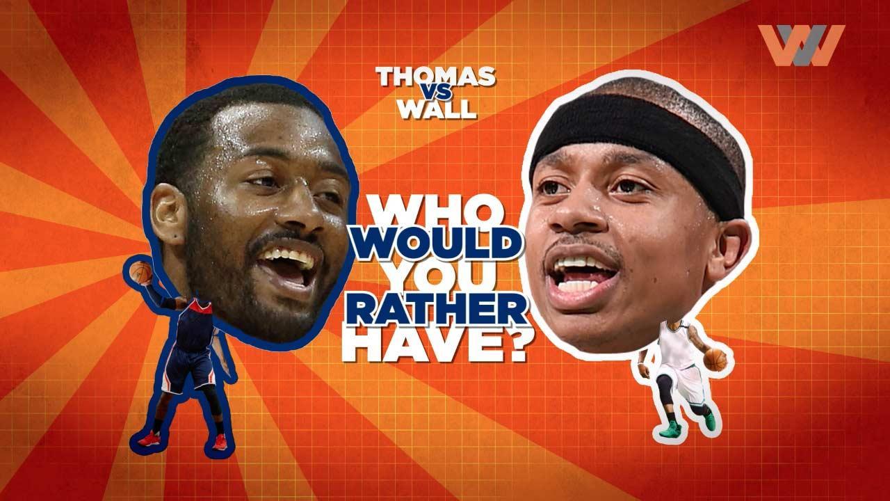 John Wall Vs. Isaiah Thomas: Who's Better?