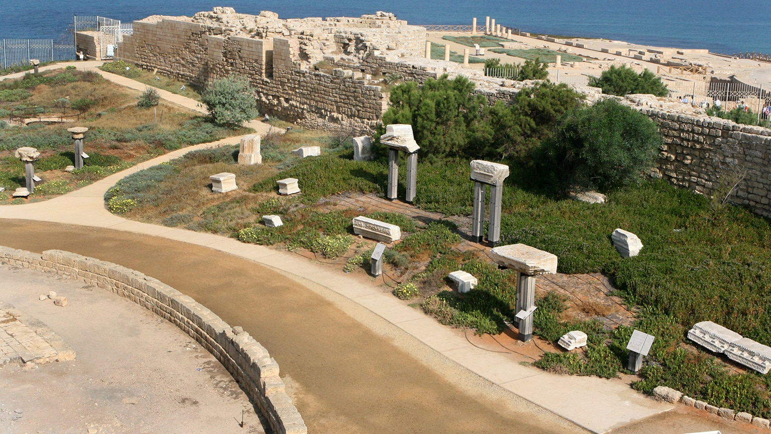 Caesarea Maritima—Harbor and Showcase City
