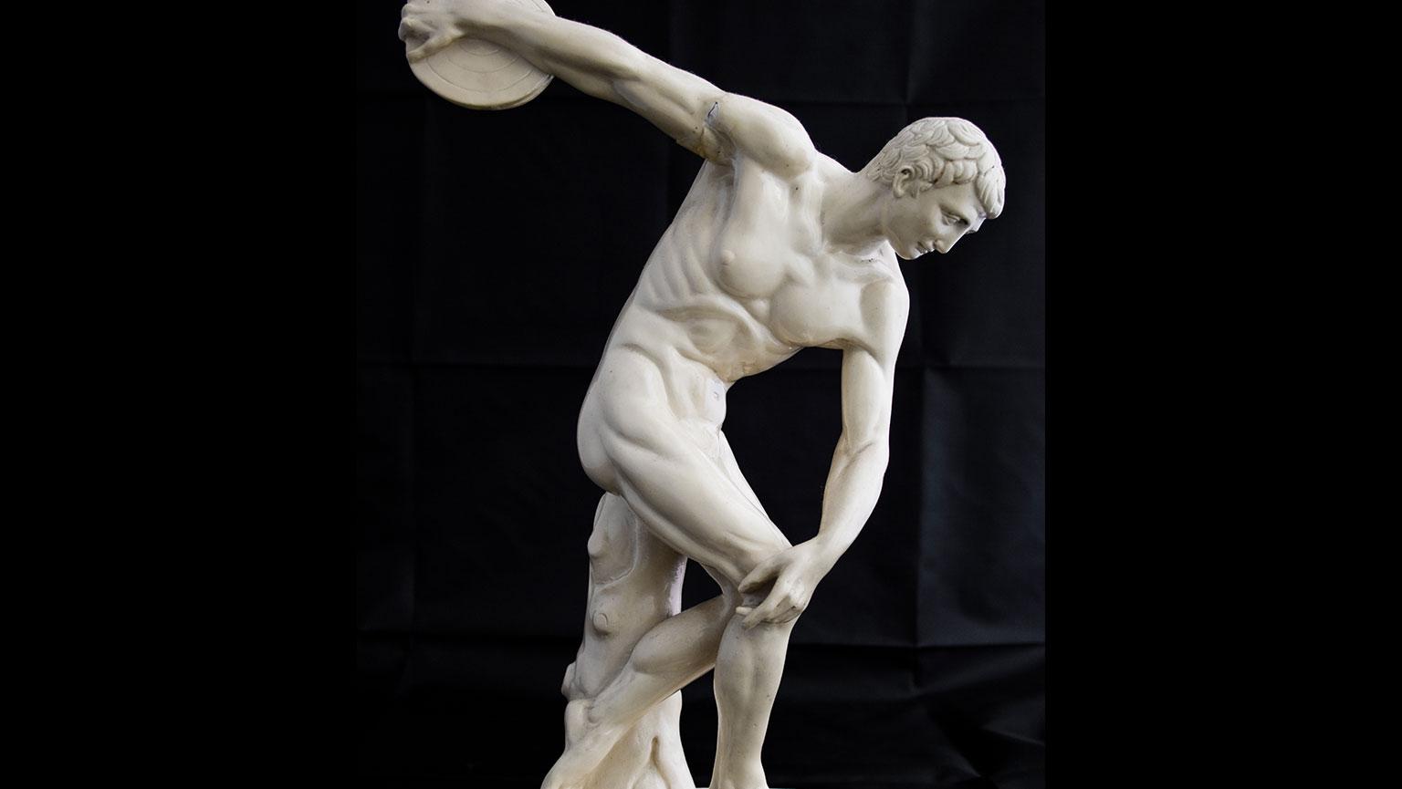 Discobolus—Motion in Sculpture
