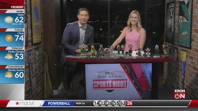 Bay Area Sports Night Nov. 18, 2019