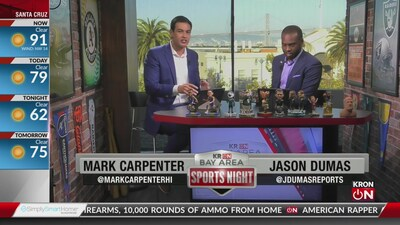 Bay Area Sports Night Aug. 14, 2019