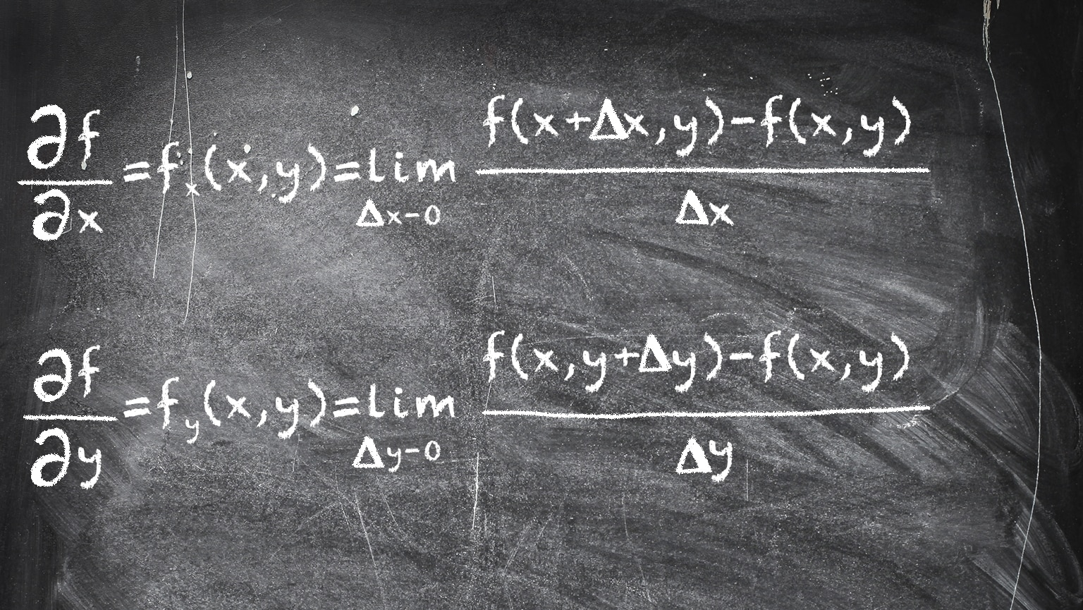 Partial Derivatives—One Variable at a Time