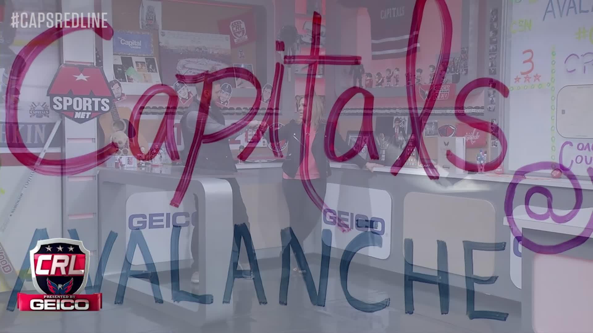 Caps Red Line - #CapsAvs - 3-29-17