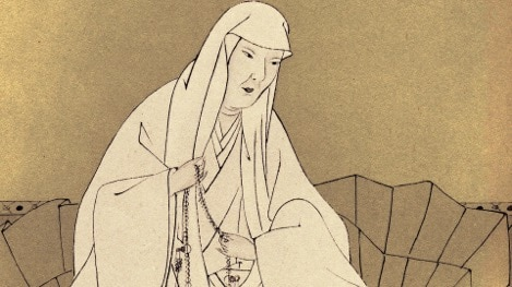 Abutsu Follows the Way of Poetry