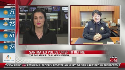 San Mateo Police Chief to retire