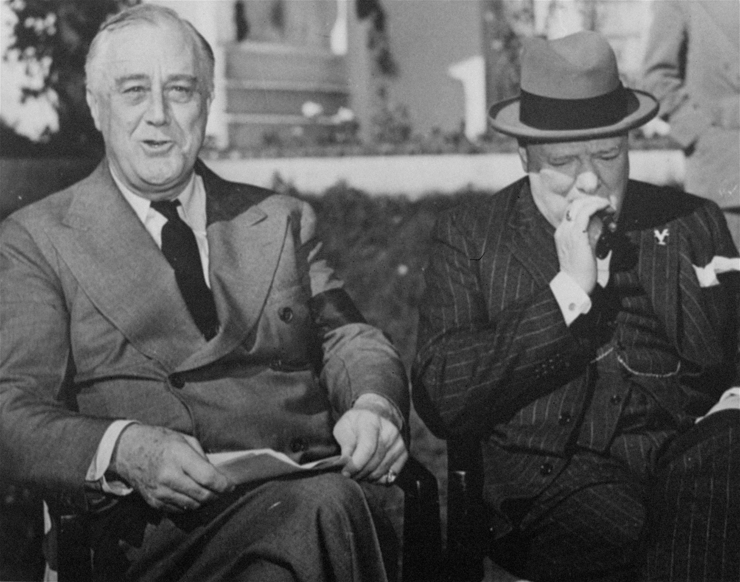fdr and churchill relationship