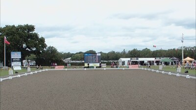 Dressage at Hickstead 2019 - CDIY Freestyle Young Riders