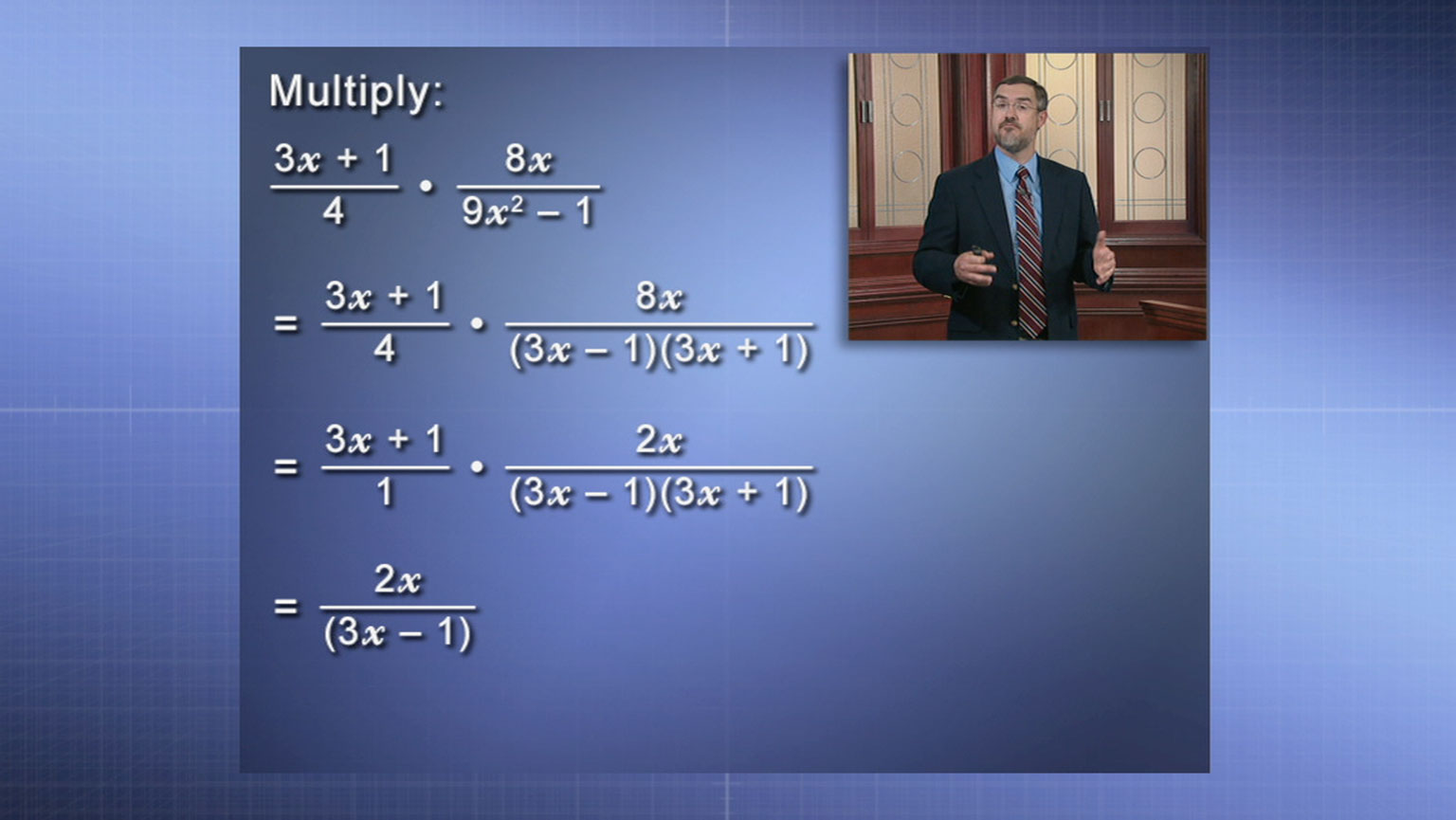 Rational Expressions, Part 2