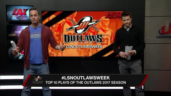 Top Ten Plays of the Outlaws' Season