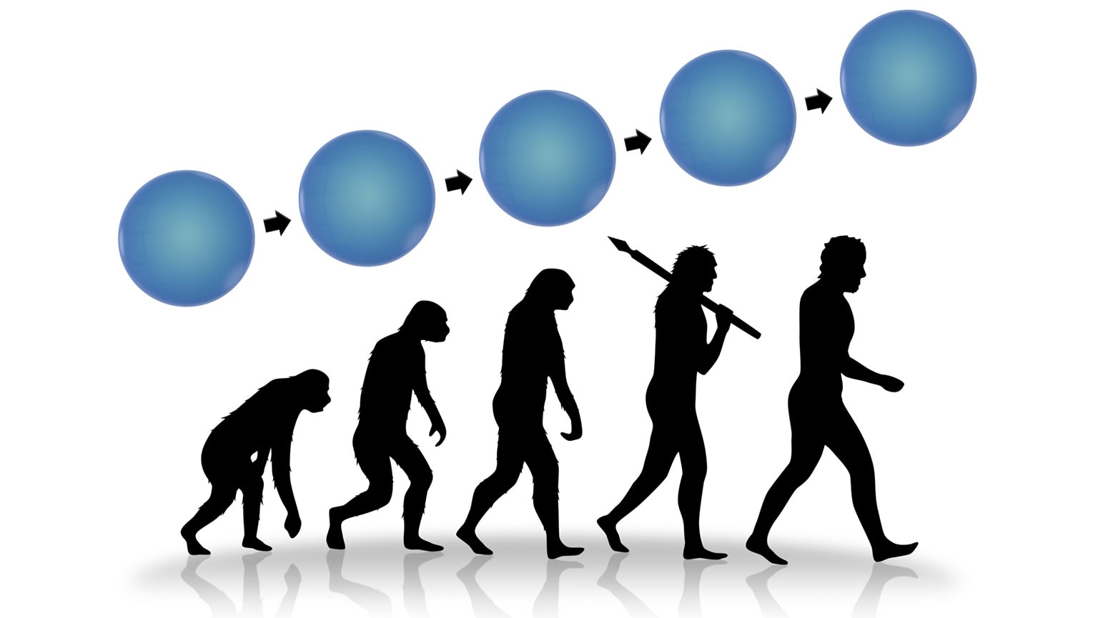 Our Accelerating Evolution