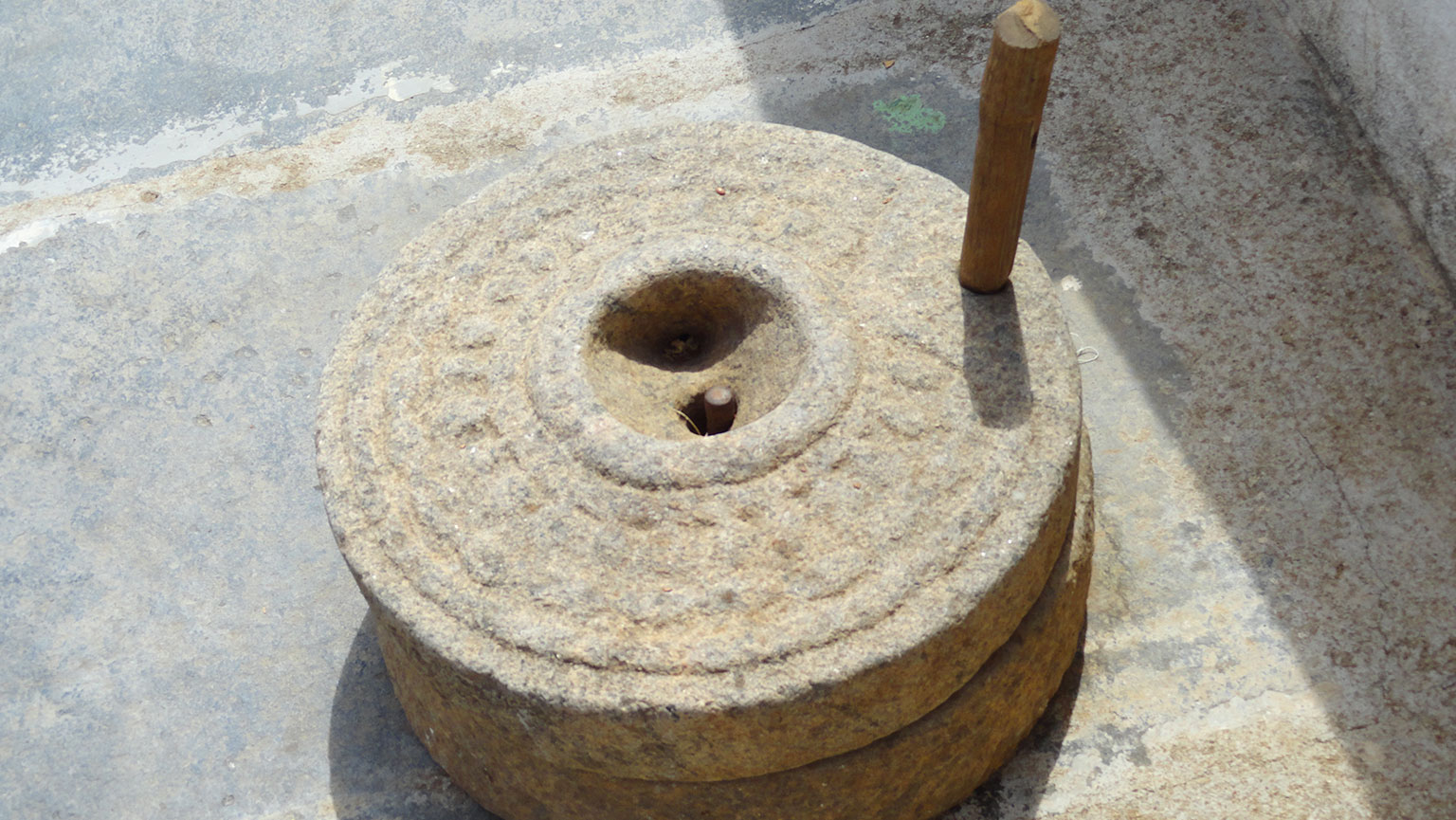 Milling Grain with Water Power