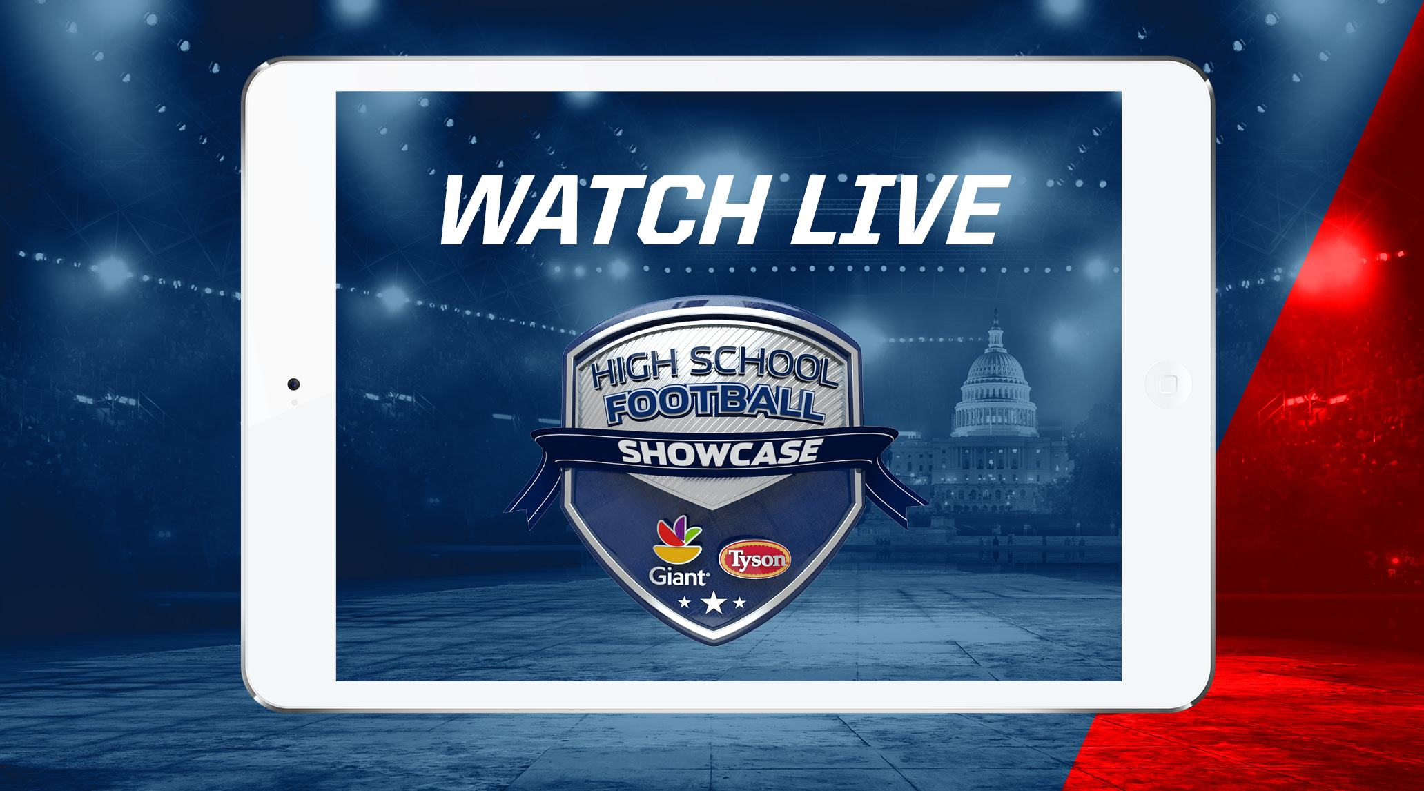 HS Football Showcase Live Presented by Giant