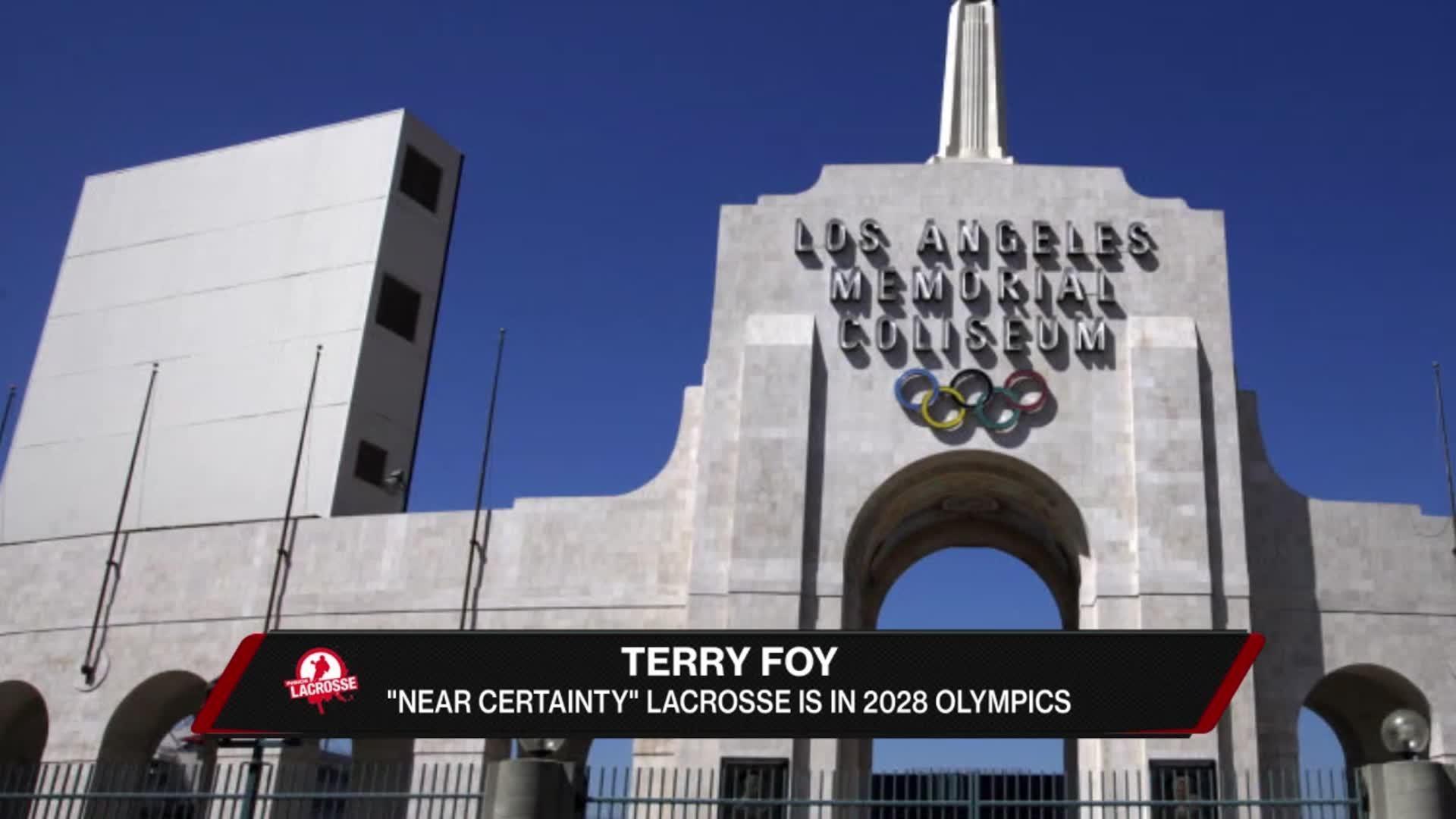 Lacrosse in 2028 Olympics?